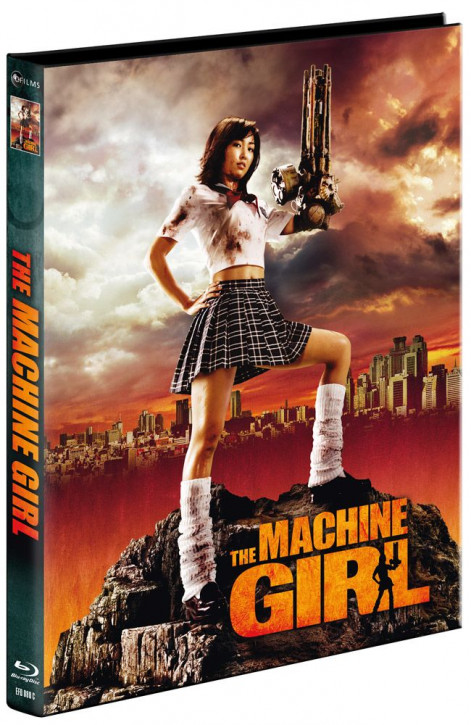 The Machine Girl - Limited Mediabook Edition - Cover C [Blu-ray+DVD]