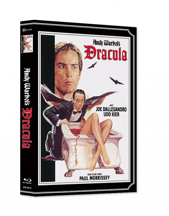 Andy Warhol's Dracula - Limited Mediabook Edition - Cover A [Blu-ray+DVD]