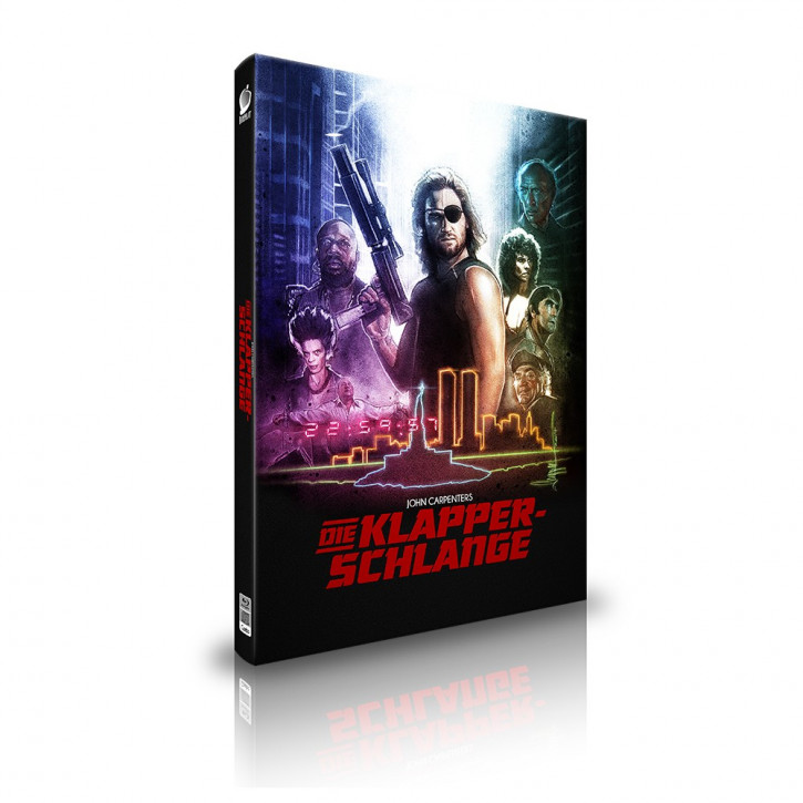 Die Klapperschlange - Limited Mediabook Edition - Cover B [Blu-ray+CD]