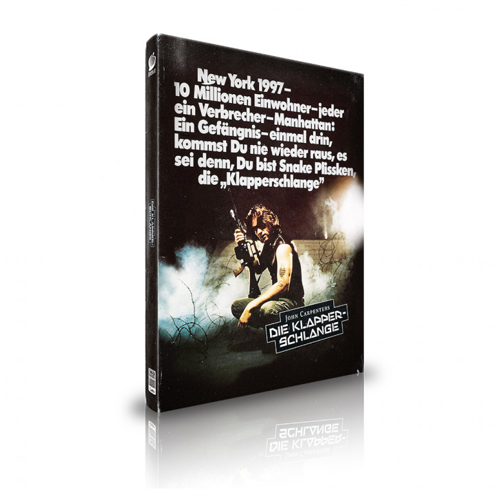 Die Klapperschlange - Limited Mediabook Edition - Cover C [Blu-ray+CD]