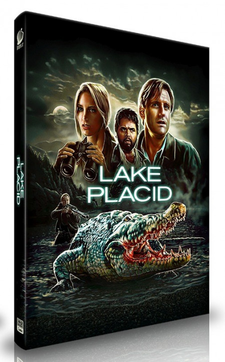 Lake Placid  - Limited Mediabook Edition - Cover A [Blu-ray]