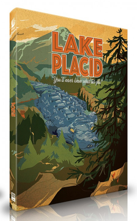 Lake Placid  - Limited Mediabook Edition - Cover B [Blu-ray]