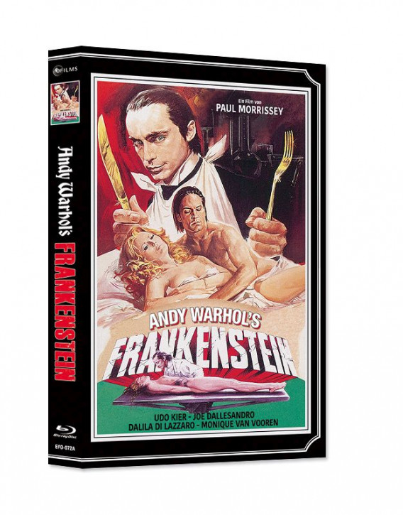 Andy Warhol's Frankenstein - Limited Mediabook Edition - Cover A [Blu-ray+DVD]