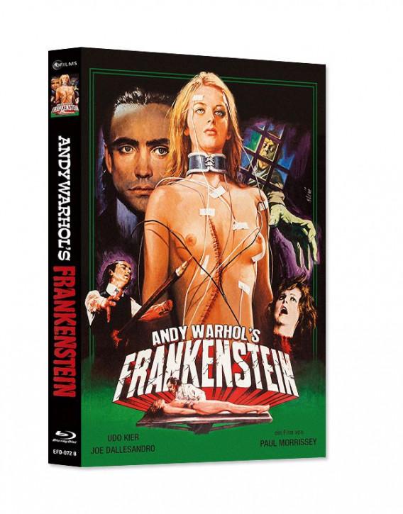 Andy Warhol's Frankenstein - Limited Mediabook Edition - Cover B [Blu-ray+DVD]