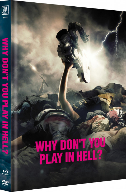 Why don't you play in Hell (OmU) - Limited Mediabook Edition  - Cover B [Blu-ray+DVD]