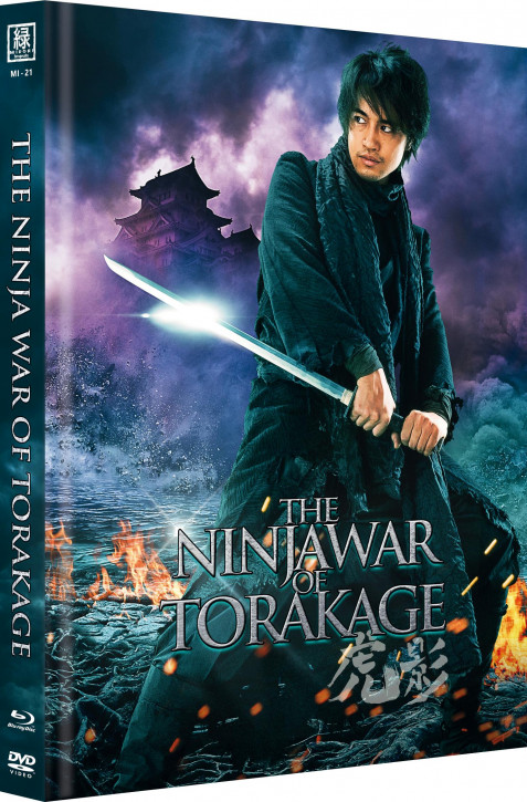 The Ninja War of Torakage (OmU) - Limited Mediabook Edition - Cover A [Blu-ray+DVD]