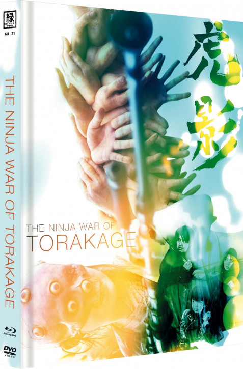 The Ninja War of Torakage (OmU) - Limited Mediabook Edition - Cover C [Blu-ray+DVD]