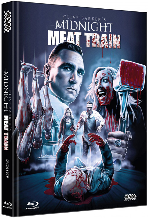 Midnight Meat Train - Limited Collector's Edition - Cover F [Blu-ray+DVD]
