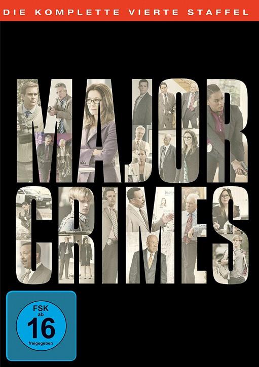 Major Crimes - Die komplette vierte Staffel [DVD]
