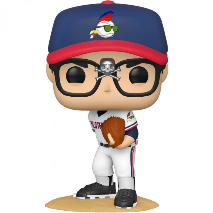 """Major League POP! - Vinyl Figur 886 - Ricky """"Wild Thing"""" Vaughn (Limited Chase Edition)"""