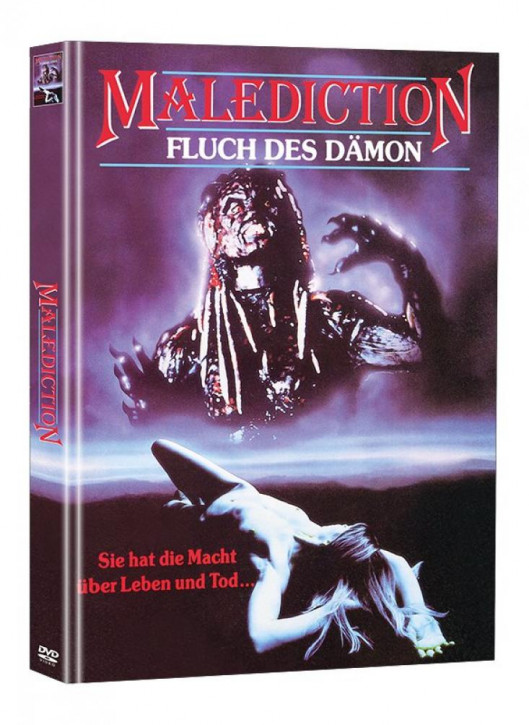 Malediction - Fluch des Dämon - Limited Mediabook Edition (Super Spooky Stories #62) [DVD]