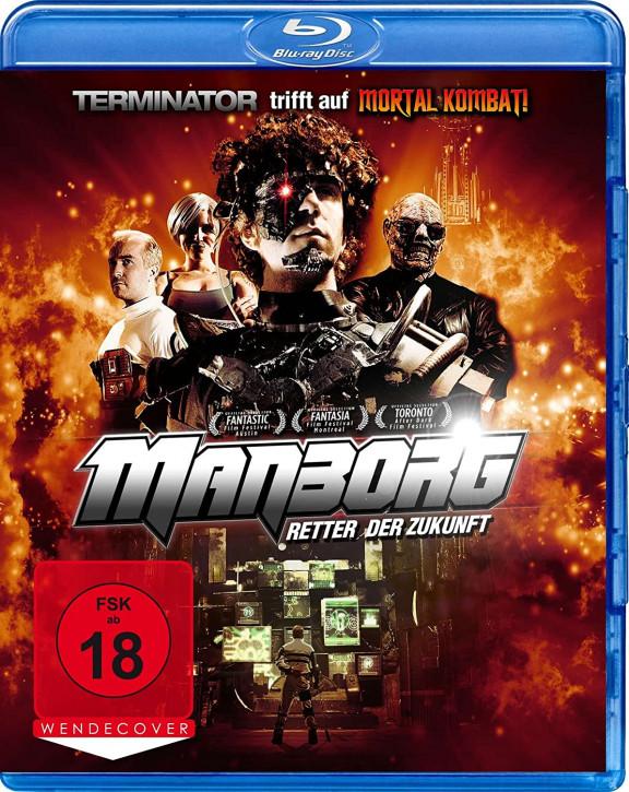 Manborg - Retter der Zukunft [Blu-ray]