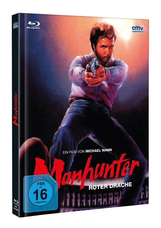 Manhunter - Limited Mediabook - Cover A [Blu-ray+DVD]