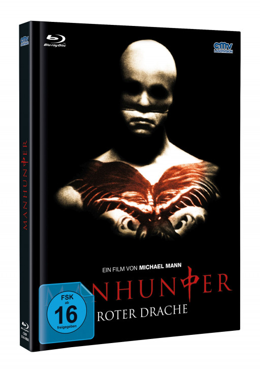 Manhunter - Limited Mediabook - Cover B [Blu-ray+DVD]
