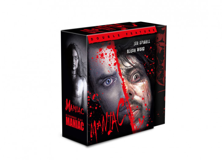 Maniac (1980) + Maniac (2012) - Limited Digipack [Blu-ray+DVD]