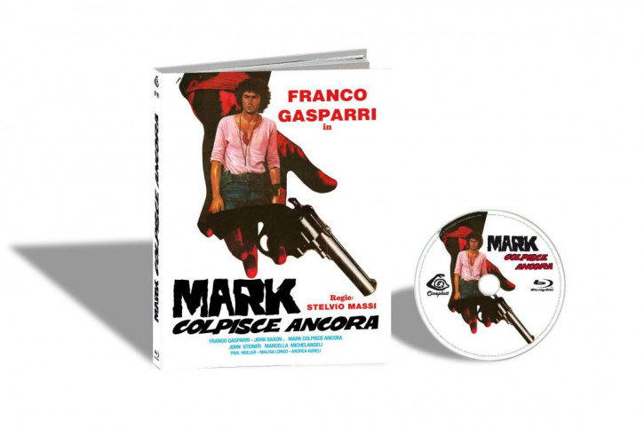 Mark Colpisce Ancora (The .44 Specialist) - Limited Mediabook Edition - Cover A [Blu-ray]