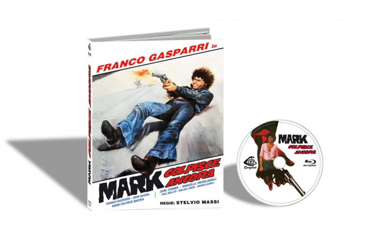 Mark Colpisce Ancora (The .44 Specialist) - Limited Mediabook Edition - Cover B [Blu-ray]