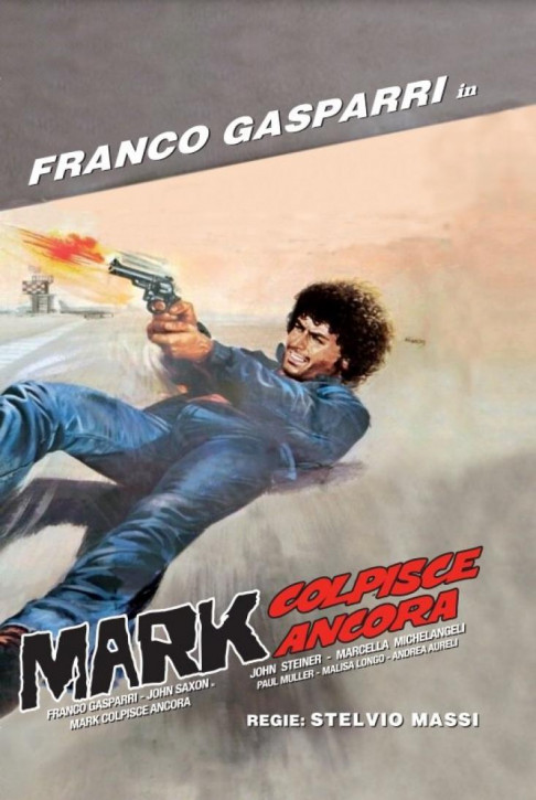 Mark Colpisce Ancora (aka The .44 Specialist) - kleine Hartbox - Cover A [Blu-ray]