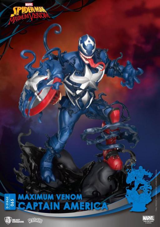 Marvel Comics: Diorama Stage 65 - Maximum Venom Captain America