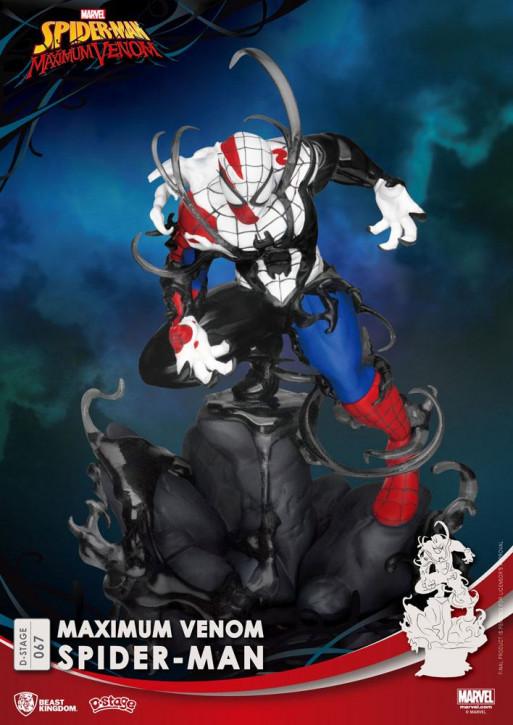 Marvel Comics: Diorama Stage 67 - Maximum Venom Spider-Man