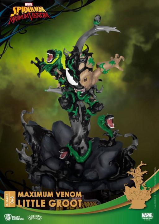 Marvel Comics: Diorama Stage 68 - Maximum Venom Little Groot
