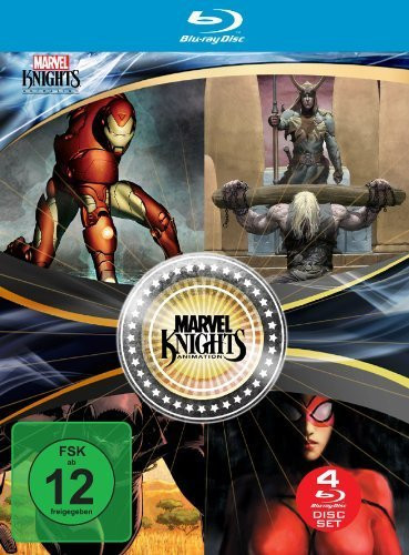 Marvel Knights Box (OmU) [Blu-ray]