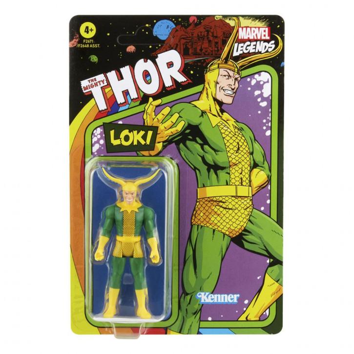 Marvel Legends - Retro Collection Series Actionfigur - Loki