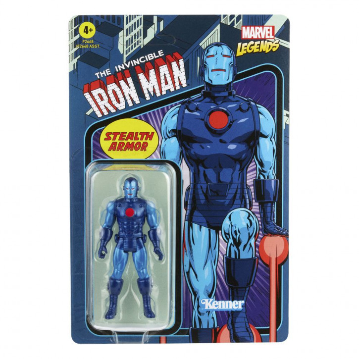 Marvel Legends - Retro Collection Series Actionfigur - Stealth Iron Man