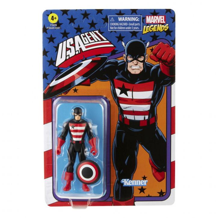 Marvel Legends - Retro Collection Series Actionfigur - U.S. Agent
