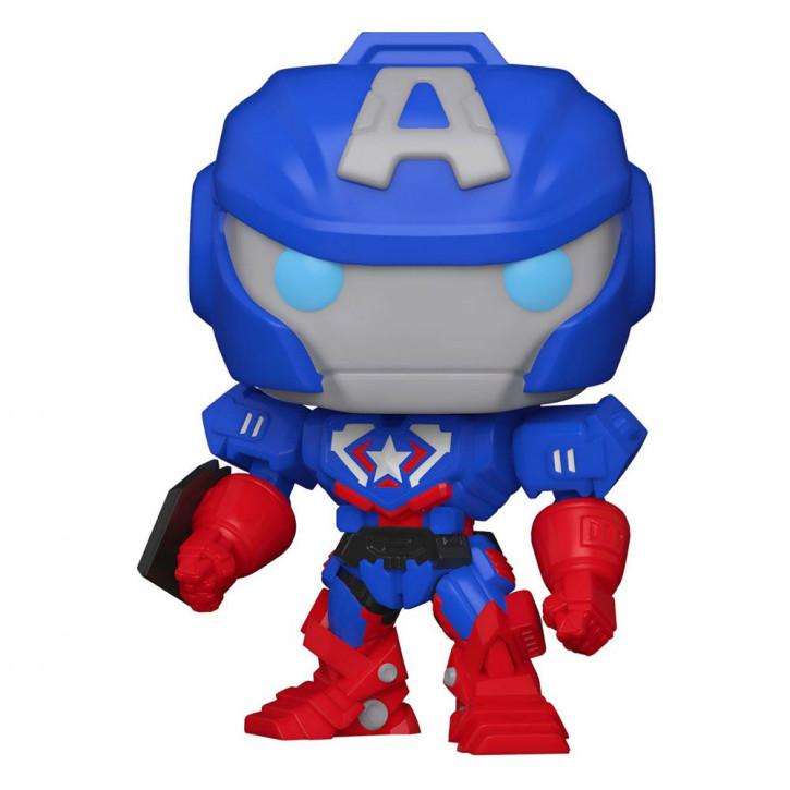 Marvel Mech POP! - Vinyl Figur 829 - Captain America
