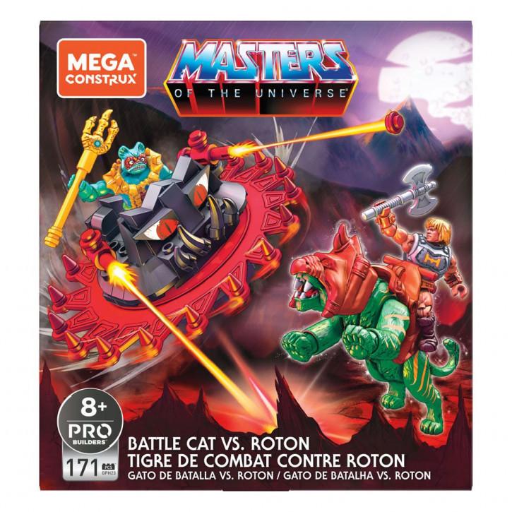 Masters of the Universe - Mega Construx Probuilders Bauset - Battle Cat vs. Roton
