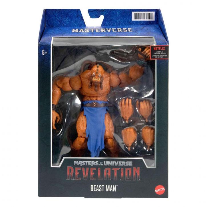 Masters of the Universe - Revelation Masterverse Actionfigur 2021 - Beast Man