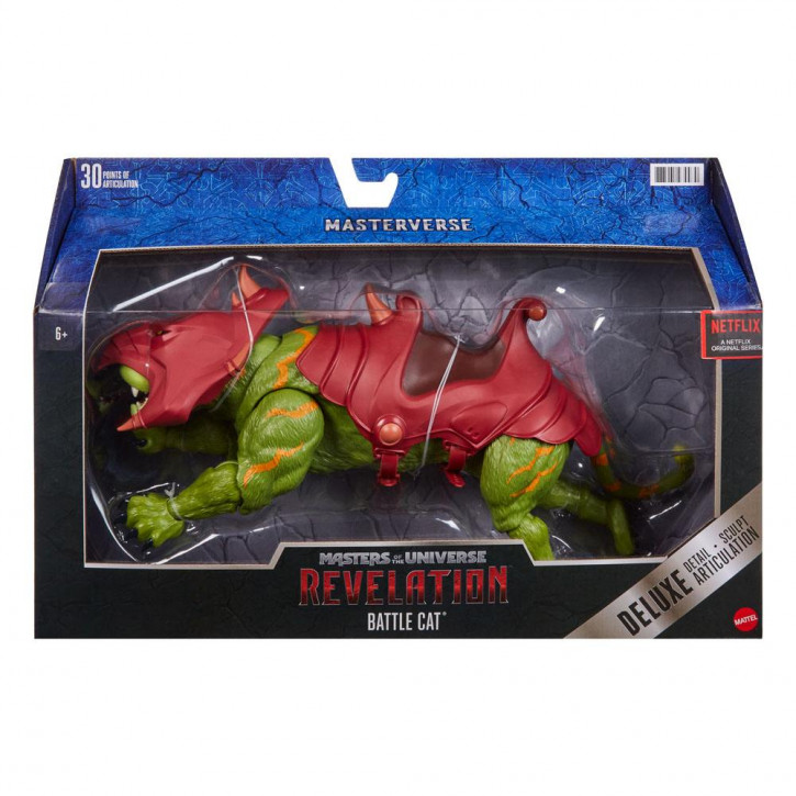 Masters of the Universe - Revelation Masterverse Actionfigur 2021 - Deluxe Battle Cat