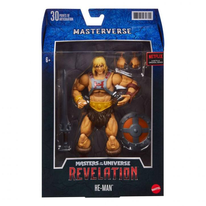 Masters of the Universe - Revelation Masterverse Actionfigur 2021 - He-Man