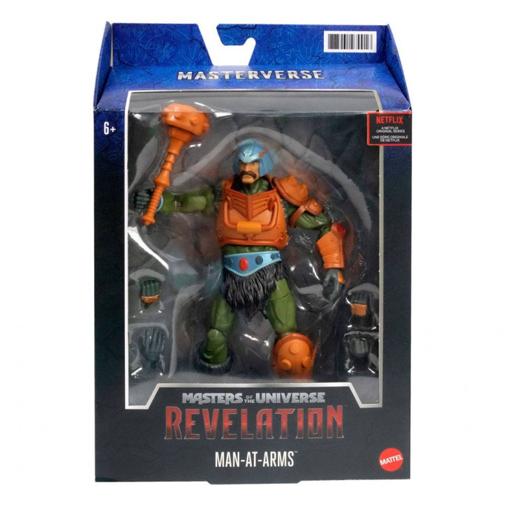 Masters of the Universe - Revelation Masterverse Actionfigur 2021 - Man-At-Arms
