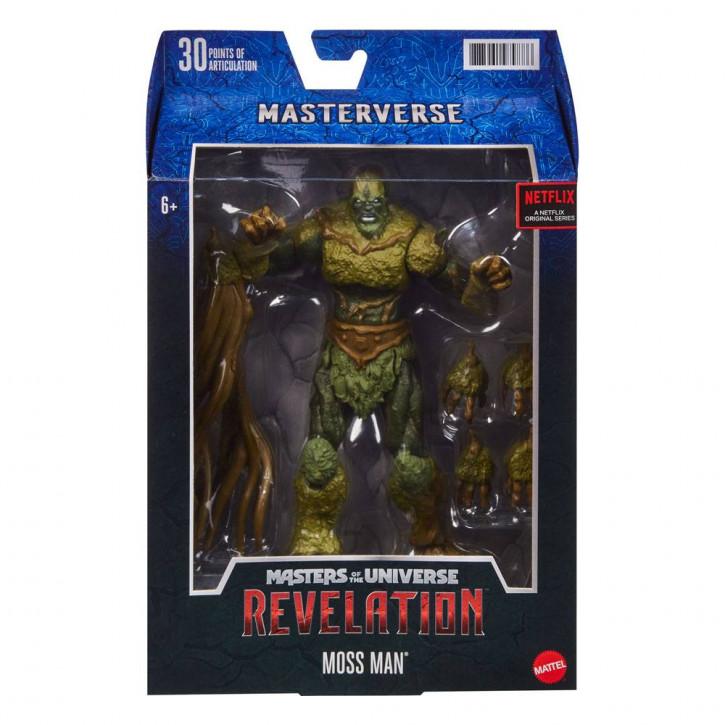 Masters of the Universe - Revelation Masterverse Actionfigur 2021 - Moss Man