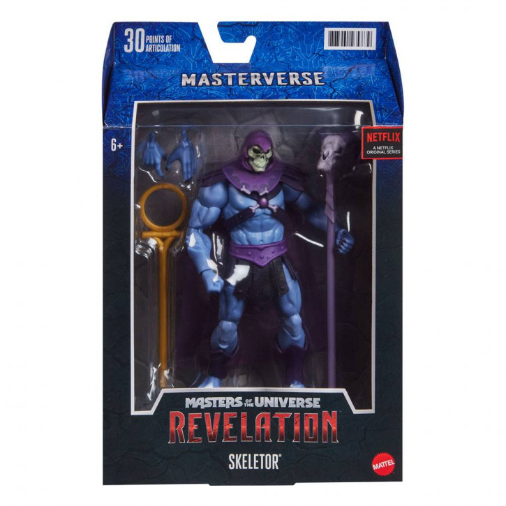 Masters of the Universe - Revelation Masterverse Actionfigur 2021 - Skeletor