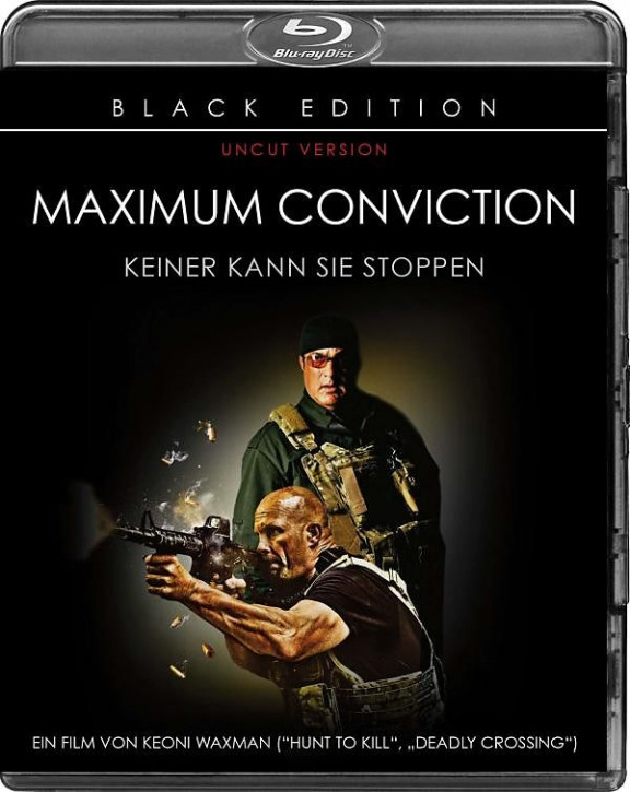 Maximum Conviction - Black Edition [Blu-ray]