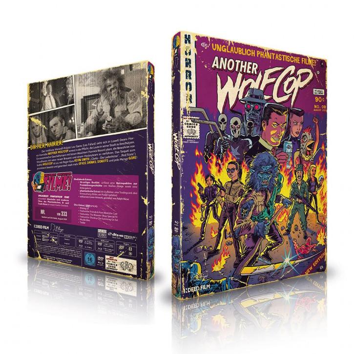 Another Wolfcop - Limited Mediabook Edition (Unglaublich Phantastische Filme-Collection #9) [Blu-ray+DVD]