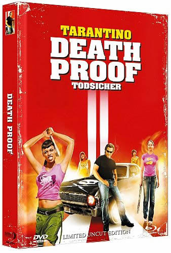 Death Proof - Limited Mediabook Edition - Cover B [Blu-ray+DVD]