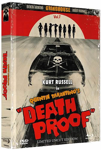 Death Proof - Limited wattiertes Mediabook Edition [Blu-ray+DVD]