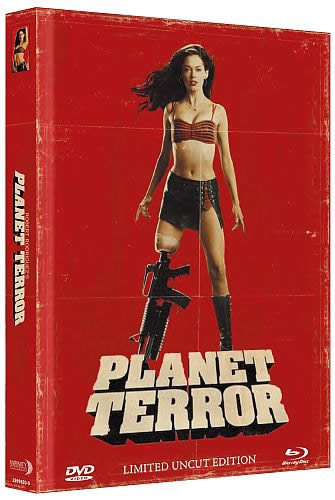 Planet Terror - Limited Mediabook Edition - Cover B [Blu-ray+DVD]