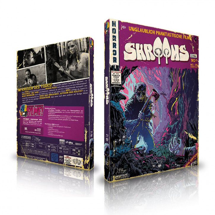 Shrooms - Limited Mediabook Edition (Unglaublich Phantastische Filme-Collection #5) [Blu-ray+DVD]