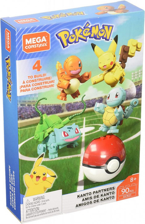 Mega Construx - Pokemon - Kanto Partners