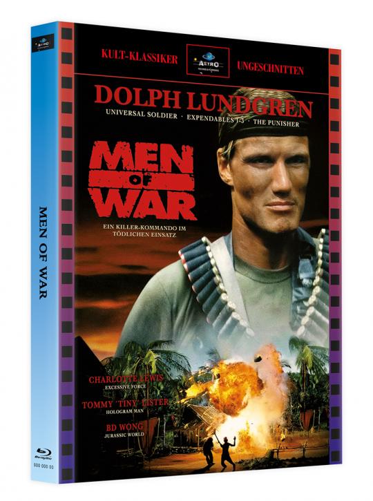 Men of War - Mediabook - Cover A [Blu-ray]