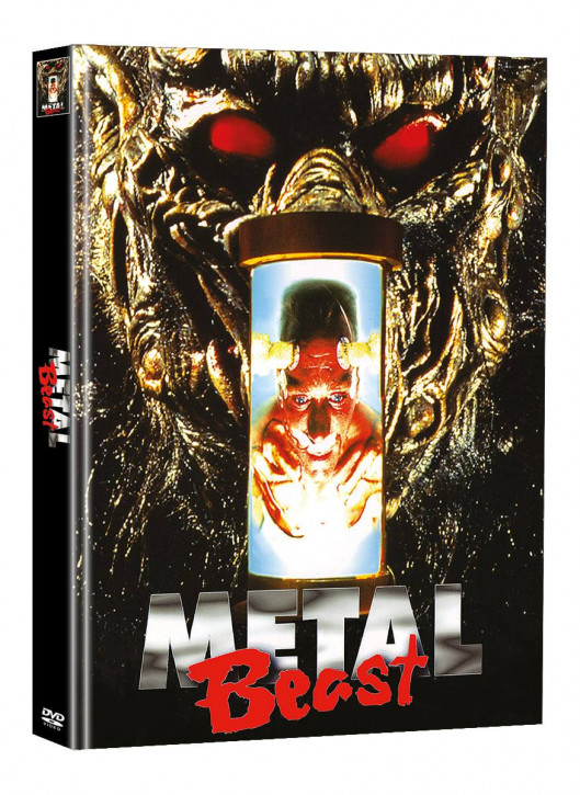 Metal Beast - Limited Mediabook Edition - Cover A (Super Spooky Stories #133) [DVD]