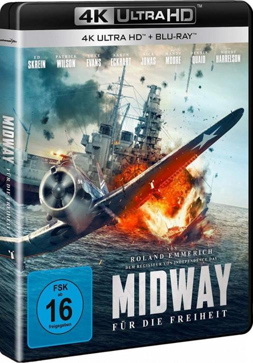 Midway - Für die Freiheit [4K UHD+Blu-ray]