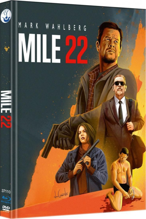 Mile 22 - Limited Mediabook Edition - Cover A [Blu-ray-DVD]