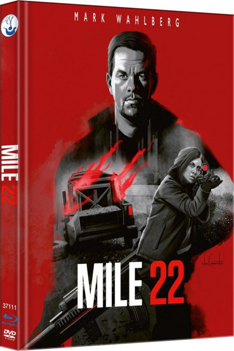 Mile 22 - Limited Mediabook Edition - Cover B [Blu-ray-DVD]