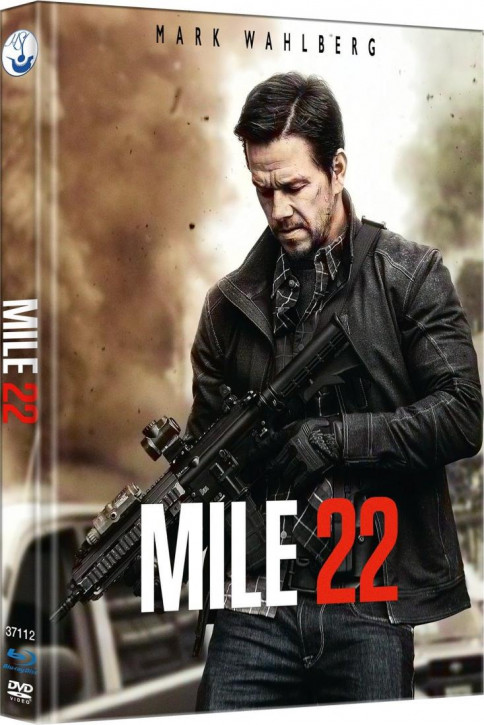 Mile 22 - Limited Mediabook Edition - Cover C [Blu-ray-DVD]